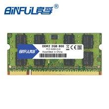 Binful New Brand DDR2 1GB 2GB 800mhz PC2-6400 MEMORY RAM 200PIN Laptop