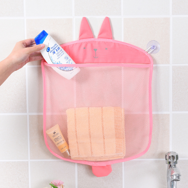 Baby Bath Toys Mesh Bag for Bathroom Toy Kids Basket for Toys Net Cartoon Animal Shape Waterproof Cloth Sand Toys Beach Storager 3