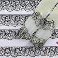 Moda 3D preto projeto Lace Art Nail Stickers decalques para unhas dicas de decoração Manicure ferramenta AS9 7GSW 8EFH