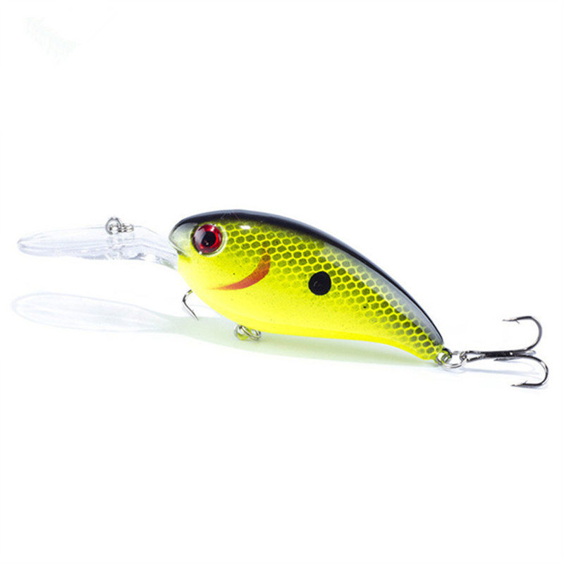 1PC Crankbait Wobblers Hard Fishing Tackle 14g 10cm Swim bait Crank Bait Bass Fishing Lures 10 Colors CB031 pike perch FA-198 1pcs lifelike 8 5g 9 5cm minow wobblers hard fishing tackle swim bait crank bait bass fishing lures 6 colors fishing tackle