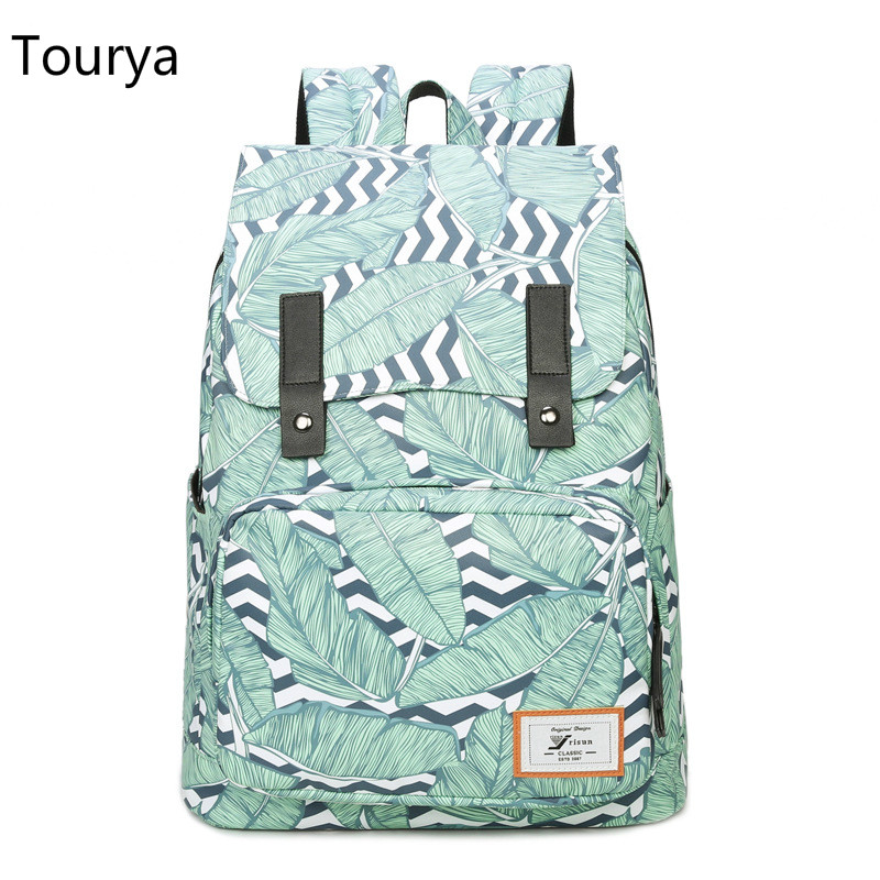 Tourya Casual Women Backpack School backpacks Bags for Teenager Girls Waterproof Laptop Back Pack Travel Daypack Mochila Escolar guess w0658g8