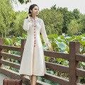 Женщины Осень Зима Шерстяные Пальто Оригинальная Версия Новый Женский Смеси Шерстяное Пальто Длинный Участок Двубортный Шерстяное Пальто