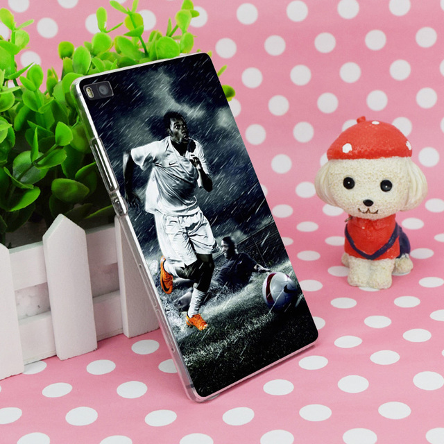 Didier Drogba Rain Run Transparent Hard Thin Case Skin Cover For Huawei P 6 7 8 9 Lite Plus Honor 6 7 4C 4X G7
