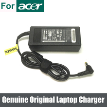 Cargador de batería para Acer Extensa, adaptador de corriente alterna Original y genuino de 65W para Acer Extensa 5630 5220 5235 5620 4220 5230 5210 Aspire 5236 5536 5536G