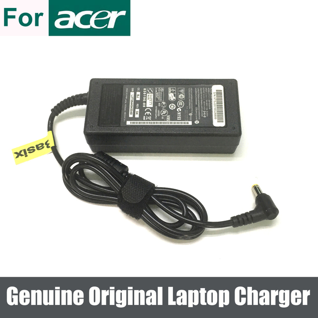 Genuine Original 65W AC Adapter Battery Charger For Acer Extensa 5630 5220 5235 5620 4220 5230 5210 Aspire 5236 5536 5536G