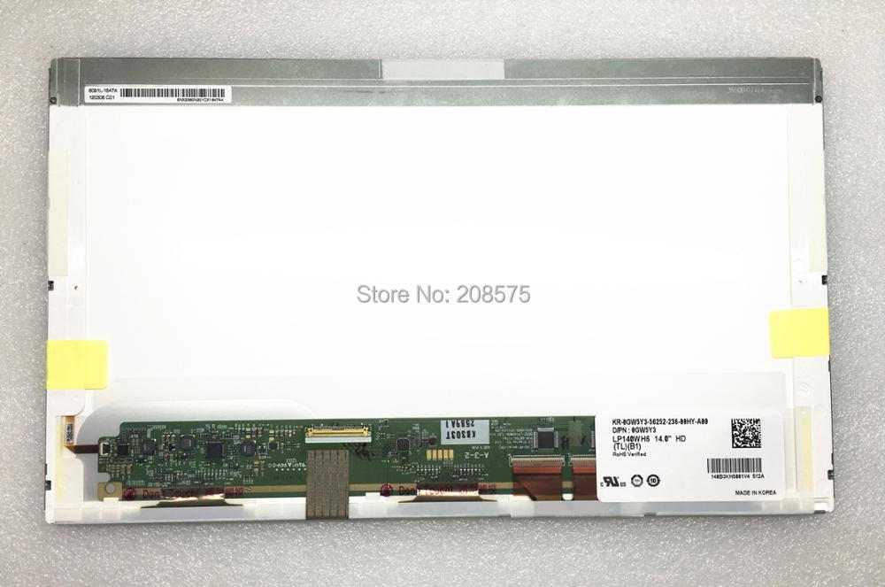 Free shipping LP140WH6-TLB1 LTN140AT22 N140BGE-L22 B140XW01 V.0 V.8 V.9 BT140GW01 V.4 Laptop Lcd Screen 40 Pins saniter new b140xw01 v 0 v 6 v 8 lp140wh1 tl a1 ht140wxb 100 lp140wh4 ltn140at26 n140bge l23 ltn140at02 laptop lcd screen