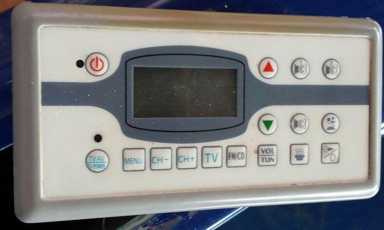 HUALIWEI , A-M08B hot tub spa topside control keypad ONLY for 3 pump spa ,spa control panel for jazzi ,Monalisa spa lx h30 rs1 3kw hot tub spa bathtub heater
