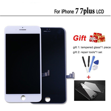 цена на AAA Quality 4.7 5.5 inch LCD Screen For iPhone 7 Plus LCD Display Digitizer Touch Screen Replacement Assembly For iPhone7 LCD