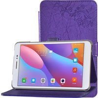 New Print Luxury Magnetic Folio Stand Fashion Prints Flower Leather Case Cover For Huawei Honor Tablet