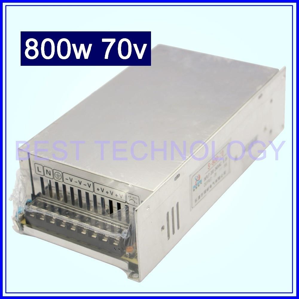 Haute Puissance de Commutation D'alimentation 800 w 70 v DC Interrupteur D'alimentation à Sortie Unique Alimentation Adaptateur