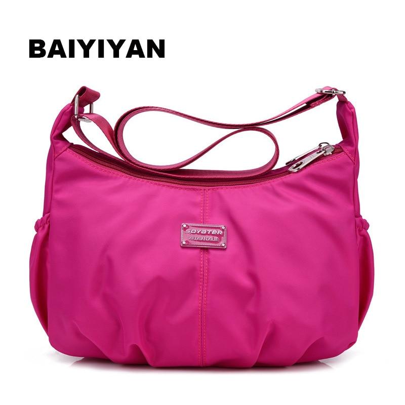 새로운 도착 패션 방수 나일론 올려 놓 가방 여성 핸드백 Crossbody의 어깨 가방 쇼핑 가방 여행 가방