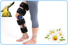 Высокое Качество Колено Ортопедические Навесных ROM Регулируемый Спорт Колено Поддержки Brace Шинная Стабилизатор Wrap Растяжения Послеоперационной Гемиплегия