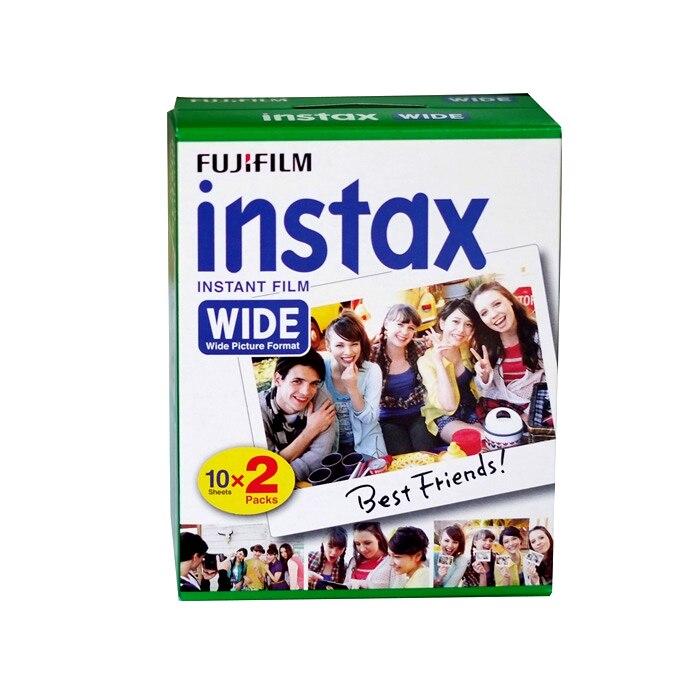 Original Fujifilm Instax Instant large Film 60 feuilles blanches Film instantané pour Polariod 300 200 210 100 500AF - 2