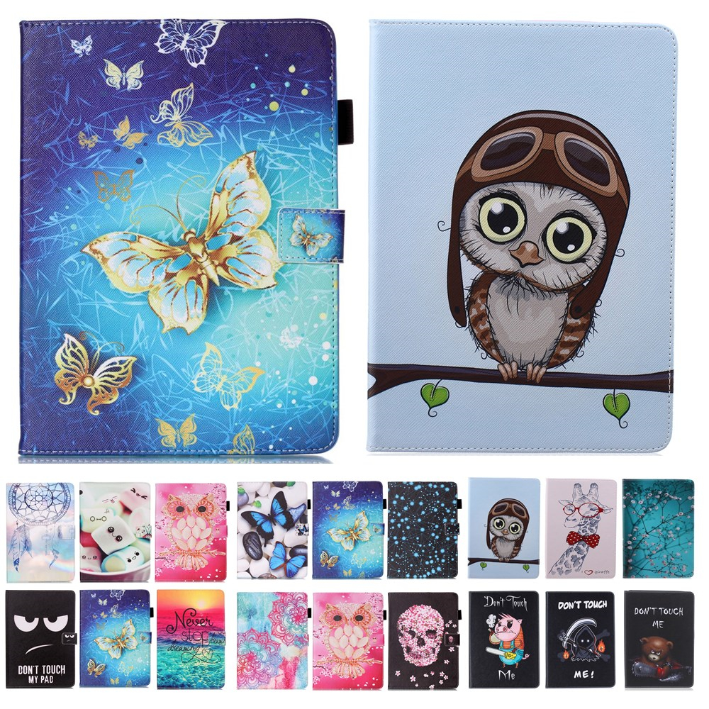 For Apple iPad mini 4 Case Owl giraffe Tiger Pattern PU Leather Flip case cover For iPad mini4 7.9'' Tablet Cover Sleeve #K цена и фото