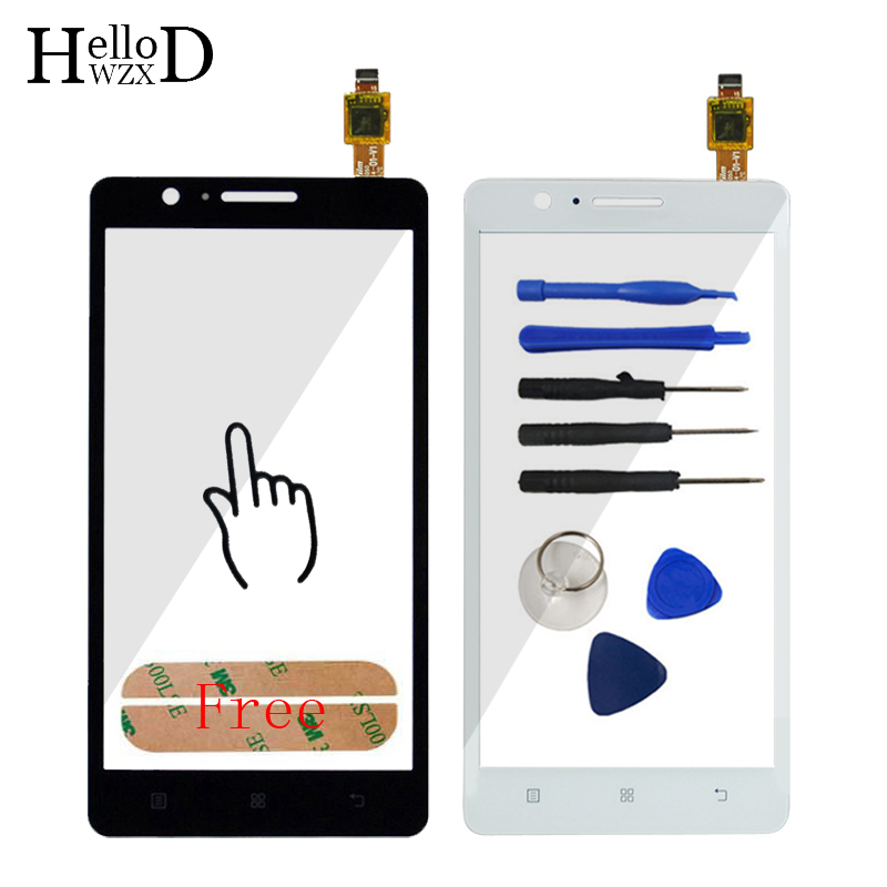 Factory Price AAA HighScreen Touch Panel For Lenovo A536 536 Touch Screen Digitizer Front Outer Front Glass Lens Sensor Adhesive