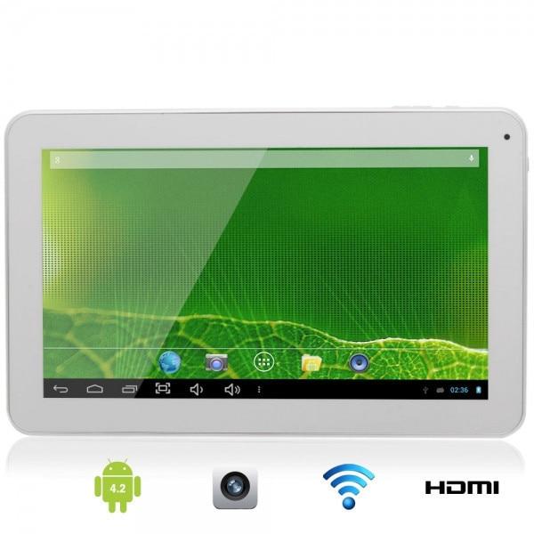 DHL 5 шт./лот 10. Android 4.2 Планшеты ПК Dual Core Allwinner A20 1.2 ГГц 8 г/1 г емкостный сенсорный осыпи HDMI wi Fi камера 10 дюймов