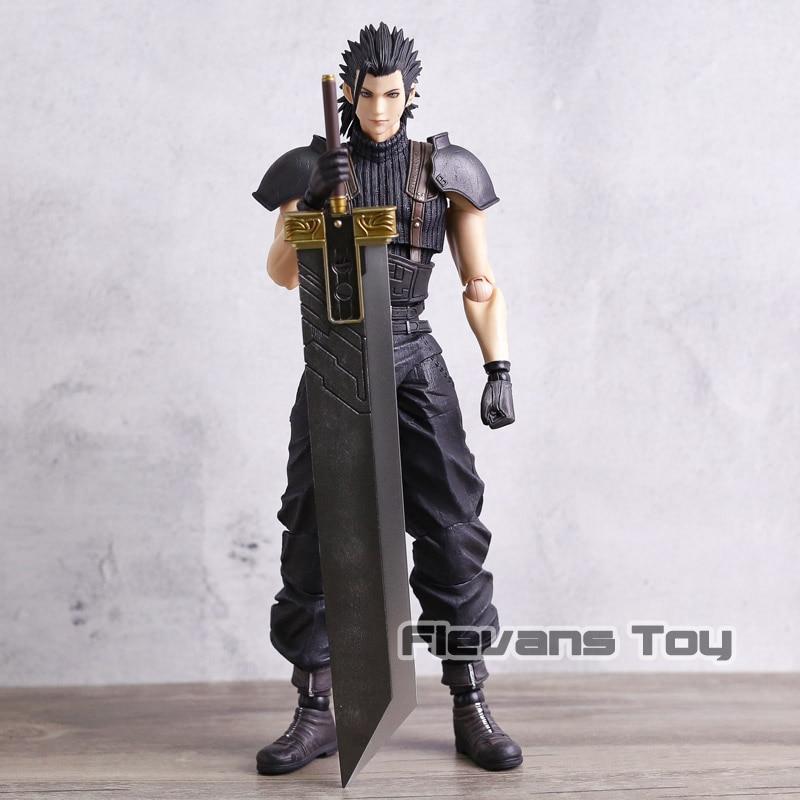 Original Play Arts KAI Final Fantasy XV Zack Fair PVC Action Figure Collectible Model Toy