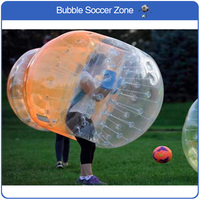 Free Shipping 1.5m TPU Inflatable Bubble Football Air Zorb Ball Air Bumper Ball Football Bubble Soccer Body Football Bubble