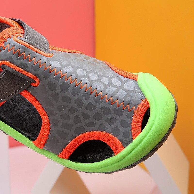 Zomer kinderen sandalen voor jongens nieuwe aankomst lederen sandalen - Kinderschoenen - Foto 4