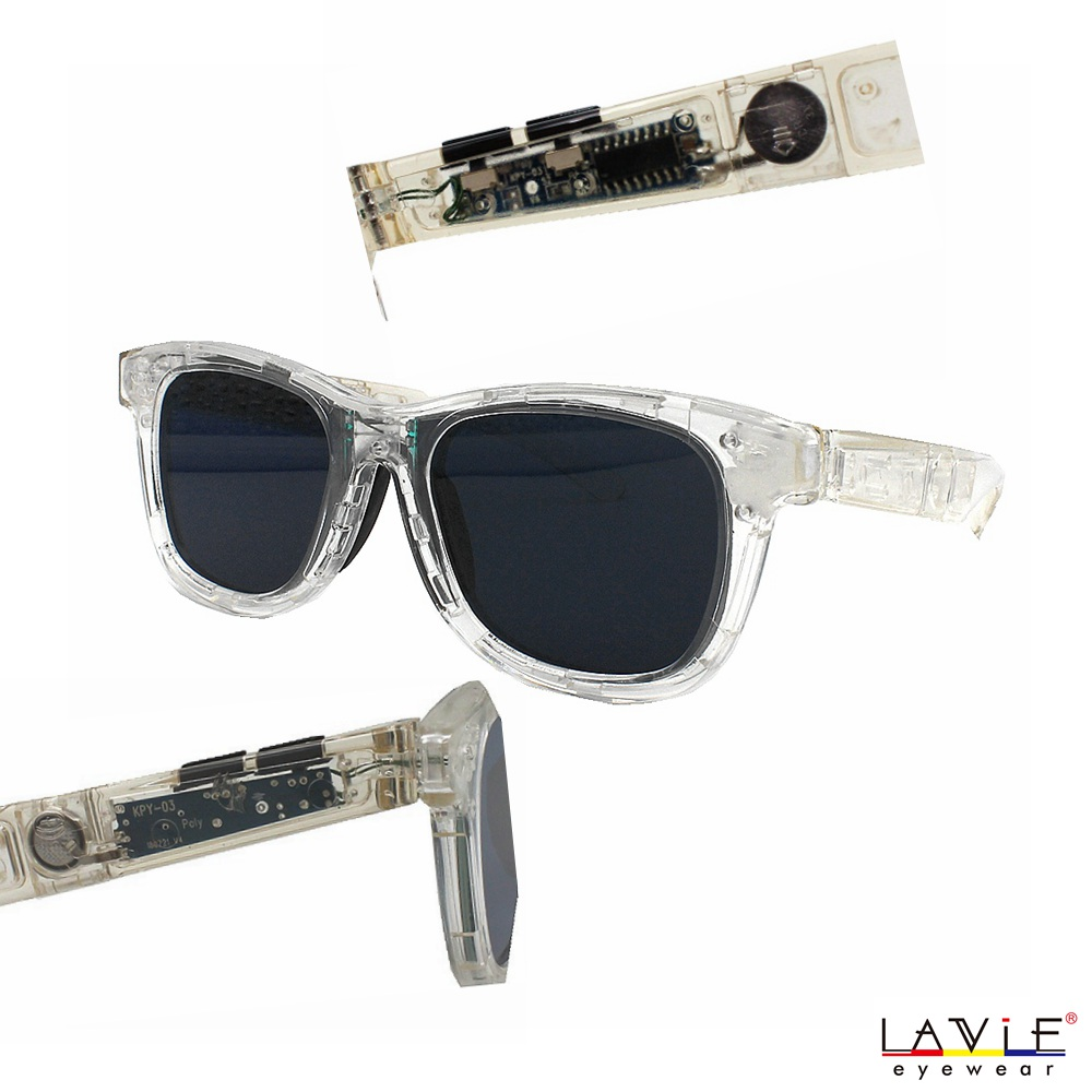 Sunglasses with Variable Electronic Tint Control Sunglasses Men Polarized Sunglasses Transparent Eyewear Frame 1