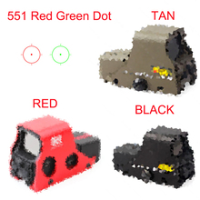 Sbedar Holographic 551 Red Green Dot Reflex Sight Scope for Hunting Airsoft 20mm