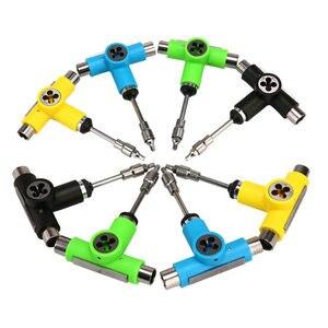Image 2 - New Skateboard Tools 1pc Roller Skate Skateboard Adjusting Tool L Wrench Longboard Fish Board Tools