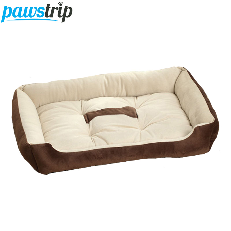 6 Dimensione Morbida Pile Pet Dog Bed Cuscino Stampa dell'osso Letti di cane di razza per Labrador Golden retriever Summer Dog Mat