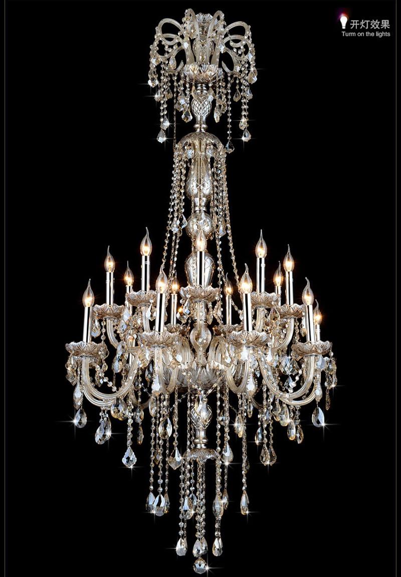 Модерен тавански полилей Луксозни - Вътрешно осветление - Снимка 4
