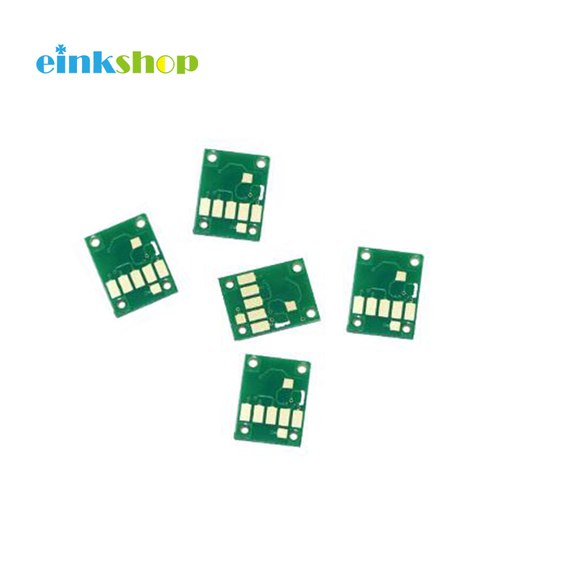 einkshop PGI-<font><b>580</b></font> CLI-581 Chip For <font><b>Canon</b></font> PGI580 CLI581 PGI <font><b>580</b></font> PIXMA TR7550 TR8550 TS6150 TS8150 TS9150 TS9155 One Time Chip image