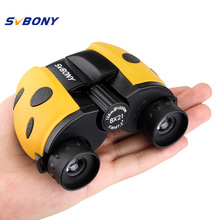 Best Buy SVBONY Binoculars Compact Telescope 8×21 SV33 Kid Telescope for Children Cute Yellow Christmas Best Gift F9315