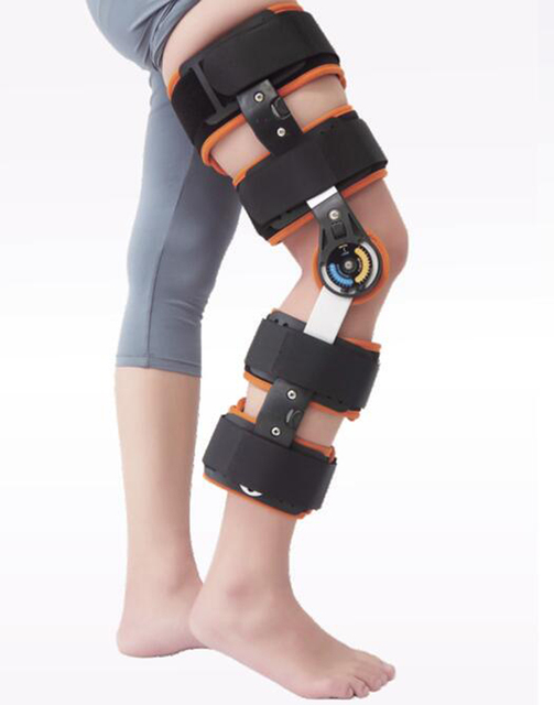 2a33e2a40b Adjustable knee orthosis LJ-502 Ultra Knee Support With Bilateral Hinges  Hinged Medical Knee Brace