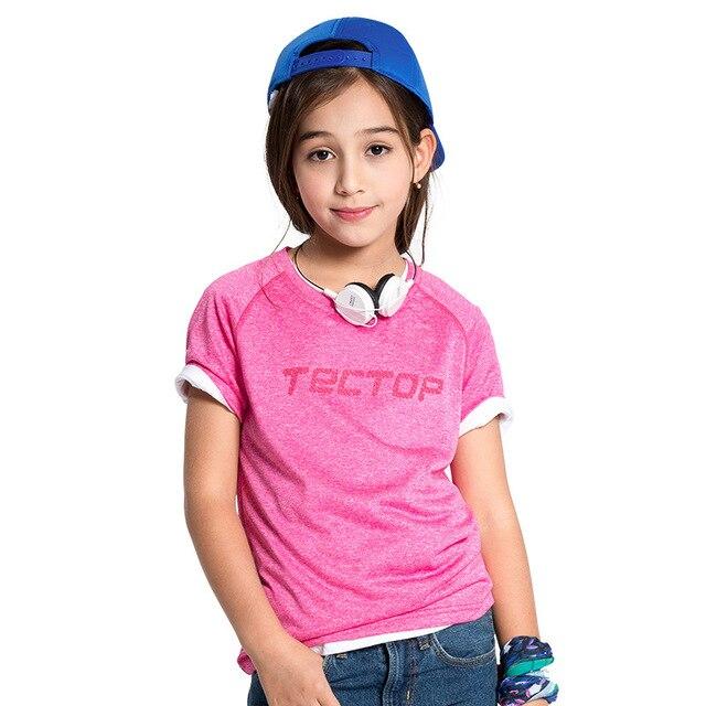 Новый 2016 дети дети марка футболки мальчиков девочки высокое качество футболки большие мальчики девочки вершины тройники на 5 - 12 лет дети