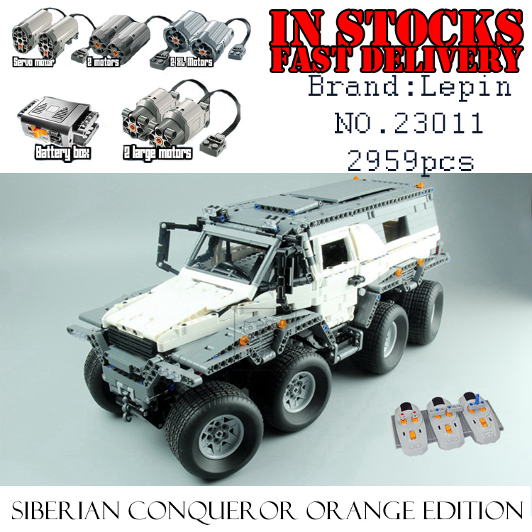 New LEPIN 23011 2959Pcs Technic Series Off-road vehiclecar-styling Building Kits Block Brick Toys for children Compatible 5360 элтон джон elton john goodbye yellow brick road deluxe edition 2 cd
