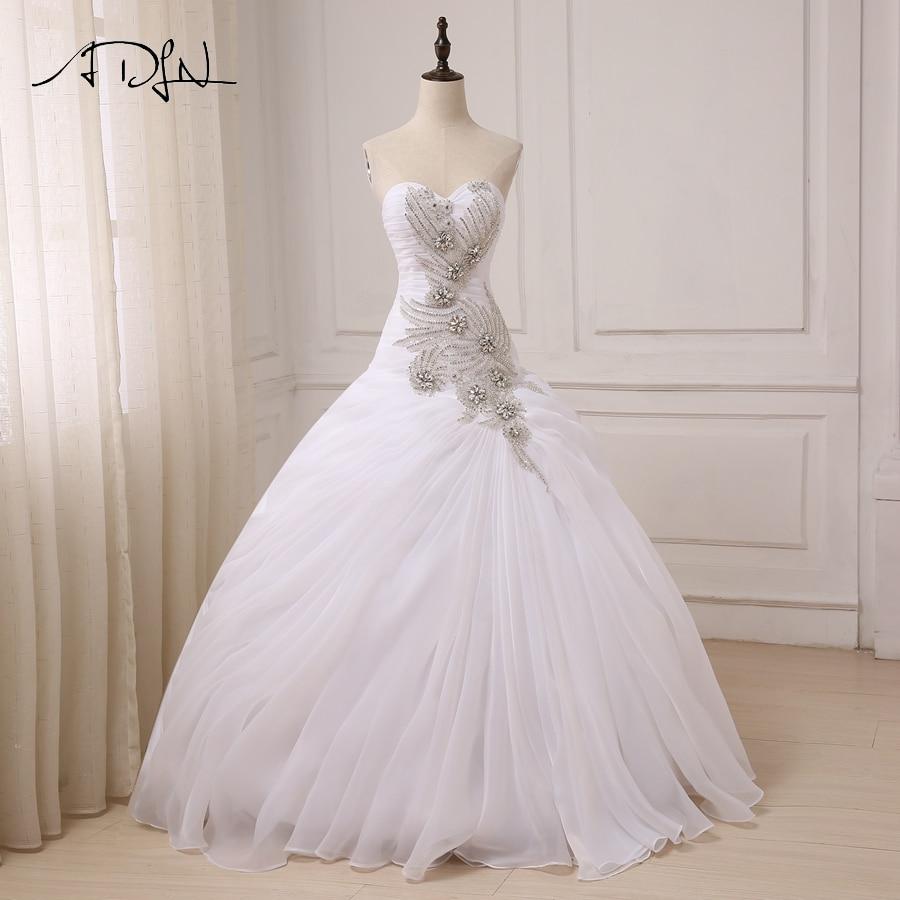 Elegant Wedding Ball Gowns: ADLN Elegant Sparkling Wedding Dresses Sweetheart