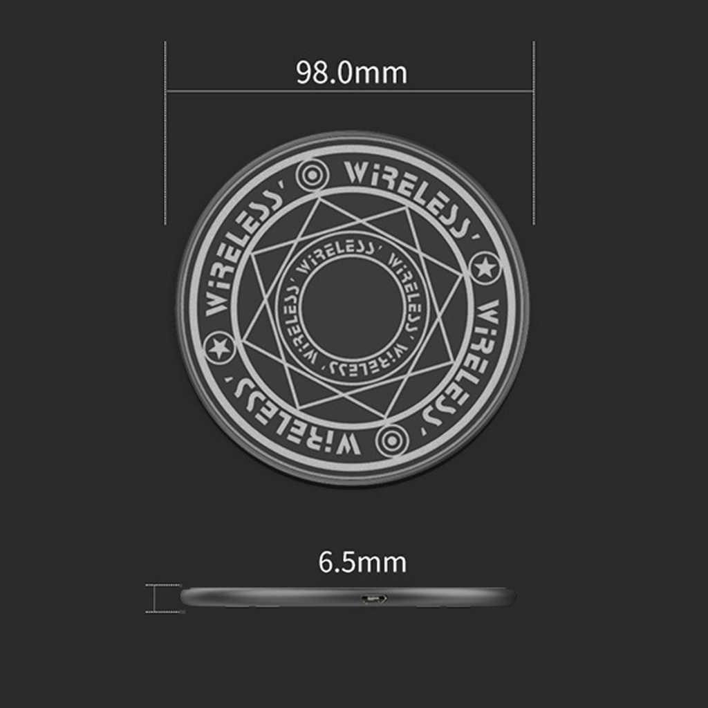 10W تشى شاحن لاسلكي سريع دائرة سحرية البصرية صفيف الشحن اللاسلكي ل تشى القياسية مجموعة كاملة اللاسلكية شحن الهاتف