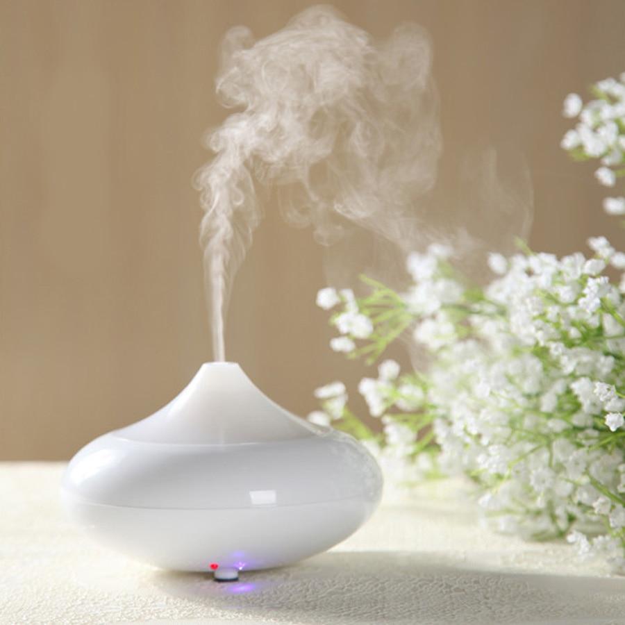 Mini Air Humidifier Ultrasonic Aroma Diffuser With Night Light Oil Essential Mist Freshener Mini Home Drop Shape Air Humidifier