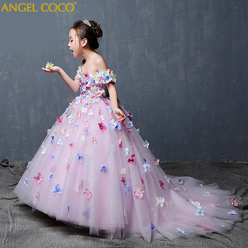 Luxury High-End Custom Carnival Flower Girl Evening Dress 3-15 Years Birthday Outfits Childrens Great Gates Dress Wedding PartyLuxury High-End Custom Carnival Flower Girl Evening Dress 3-15 Years Birthday Outfits Childrens Great Gates Dress Wedding Party