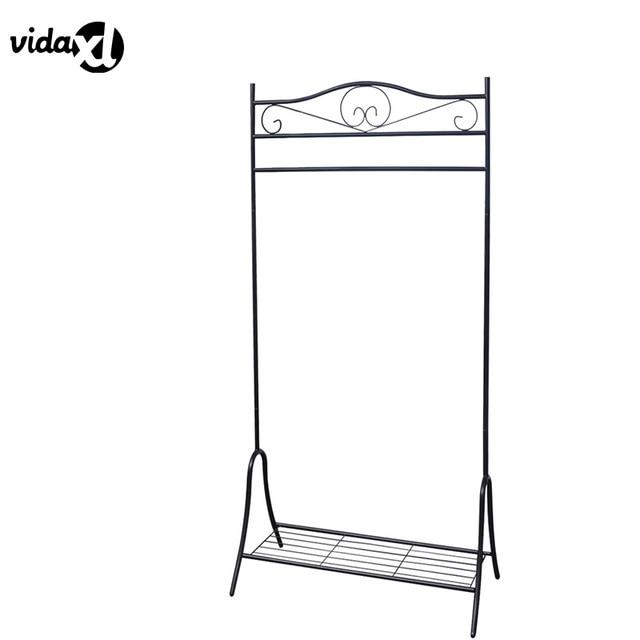 VidaXL 2017 Fashion Metal Coathat Hanger Portable Hanging Rack Convenient  Clothes Rack Elegant Home Decor Living