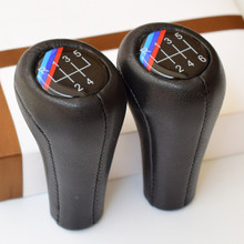 5 6 Speed Gear Shift Handle Knob With /// Emblem For BMW 1 3 5 6 7 Series E60 E61 E28 E34 E39 E63 E64 E90 X1 E84 Z8 E52 M3 M4 M5(China)