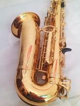 Качественный саксофон-альт L & K YAS 62 EX профессиональный E-плоский Золотой Саксофон Топ Музыкальные инструменты