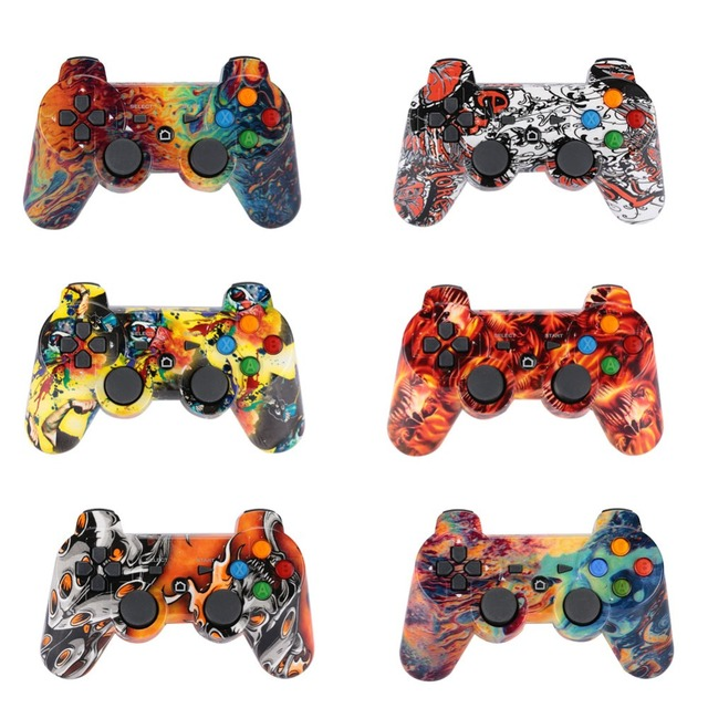 Bluetooth Controller Gamepads For SONY PS3 Gamepad Wireless Joystick for Play Station 3 Handles PS3 Gamepad Handles Controle