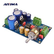 مكبر صوت AIYIMA NE5532 مكبر صوت Preamp لوحة صوت موسيقية عالية الدقة لوحة تحكم في مستوى الصوت
