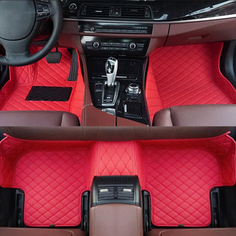 Car Wind car floor mat For mitsubishi outlander xl 3 2008 pajero sport 4 grandis lancer x galant accessories carpet rugs