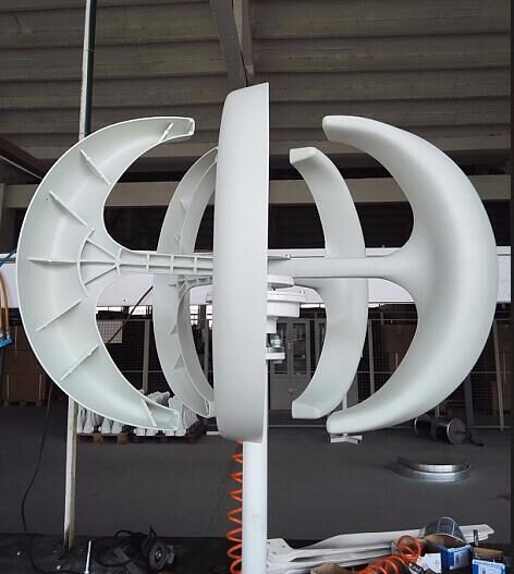 300W 12/ 24VDC Vertical Axis Wind Turbine Generator