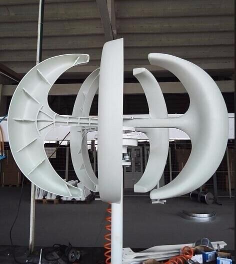 300 w 12 24vdc eixo vertical gerador de turbina eólica