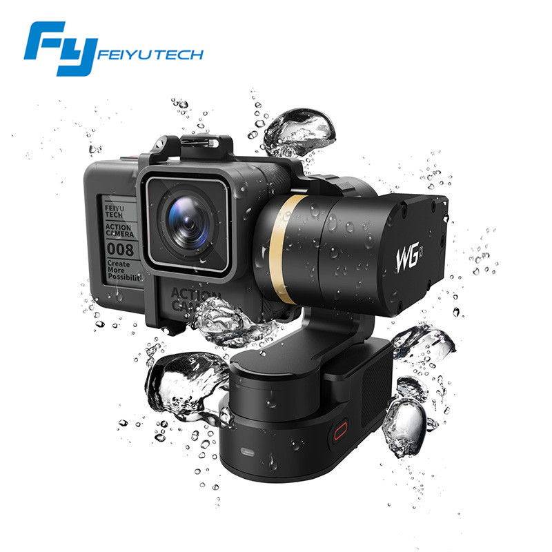 Original Feiyu WG2 Waterproof 360 Degree 3 Axis Gimbal Camera Stabilizer FPV For GoPro 5 4