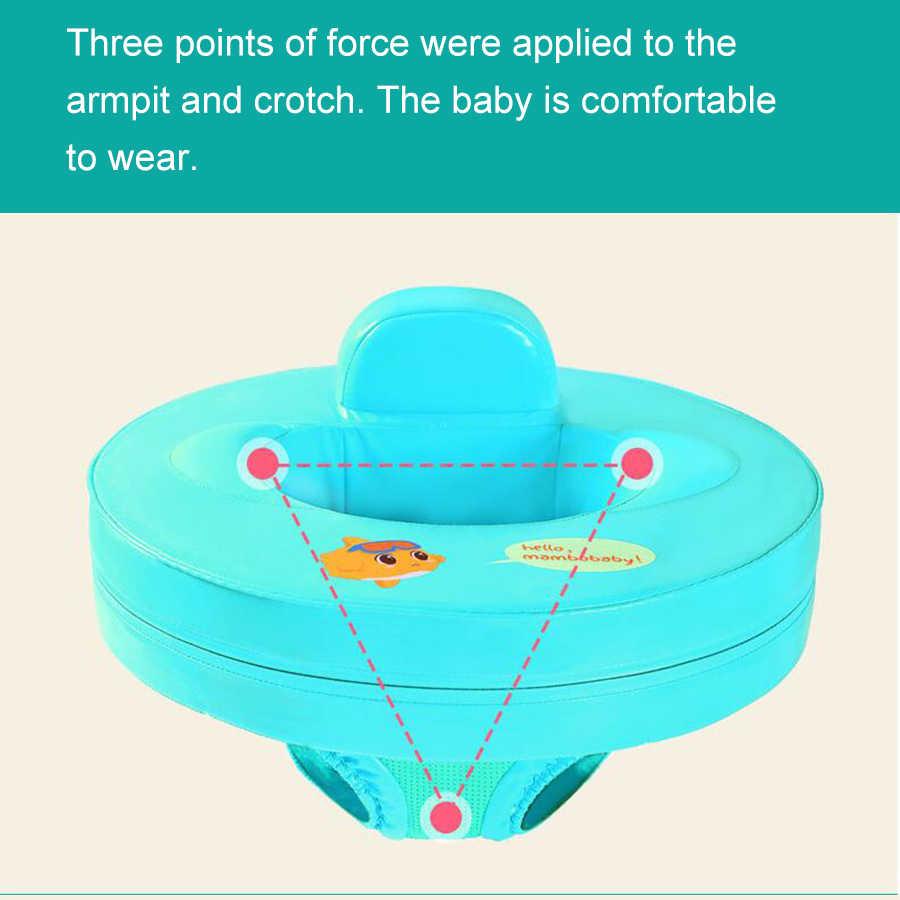 Купальный костюм для малышей, купальное сиденье лодка для купания, детский водный спортивный спасательный жилет из пенистого материала, научитесь плавать, кольца на руку для детей 2-8 лет