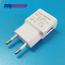 EU 1A USB Charger Charge Wall AC/DC adapter Mobile Phone Power Cable Adapter for iPhone iPad Samsung Tablet PC WIFI etc