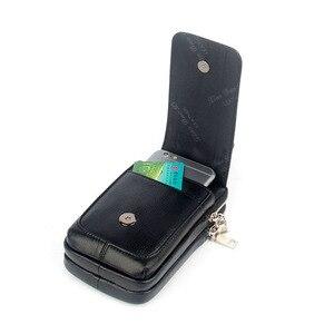Image 5 - 남자 가죽 엉덩이 허리 가방 셀/휴대 전화 동전 지갑 포켓 벨트 부랑자 주머니 팩 빈티지 엉덩이 가방 고품질