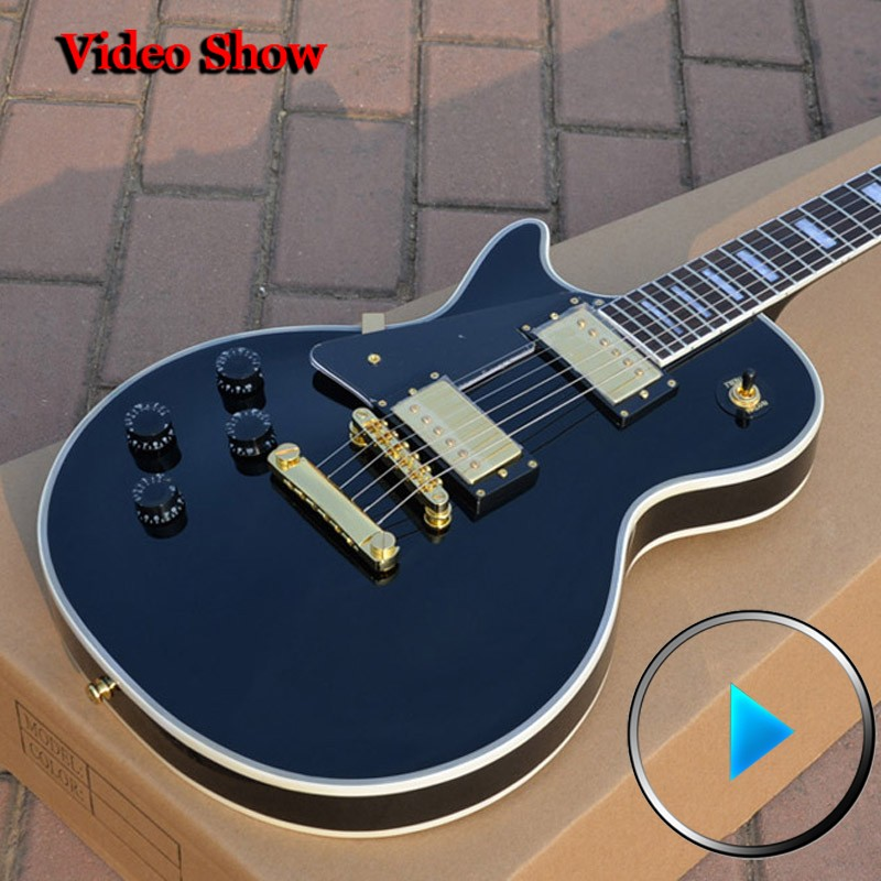 left handed electric guitar Custom Shop 1958 LP Custom guitars high-quality complete chinese electric guitars free shipping high quality flag custom finish left handed es electric guitars china hollow body